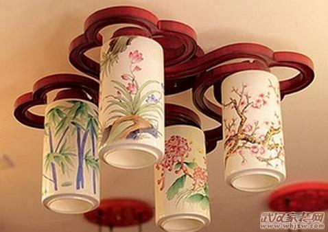 中式古典灯具选购梦回明月霓虹闪烁